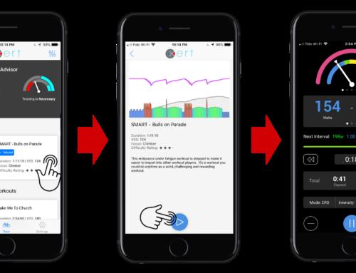Using The Xert App for iOS